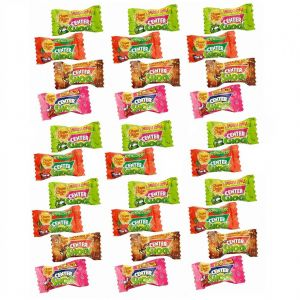 30 x Sour Mix Centre Shock Chupa Chups Chewing Bubblegum Candy Sweets